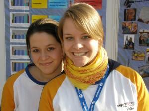 Nadine Jouy (li.) & Michelle Joy