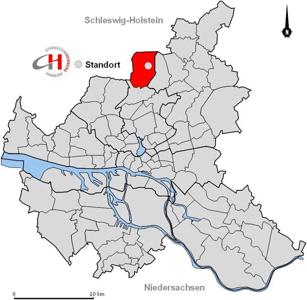 hamburg langenhorn karte Langenhorn – unser Stadtteil – Gymnasium Heidberg