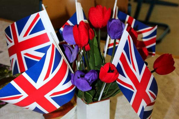 Englisch Blumen