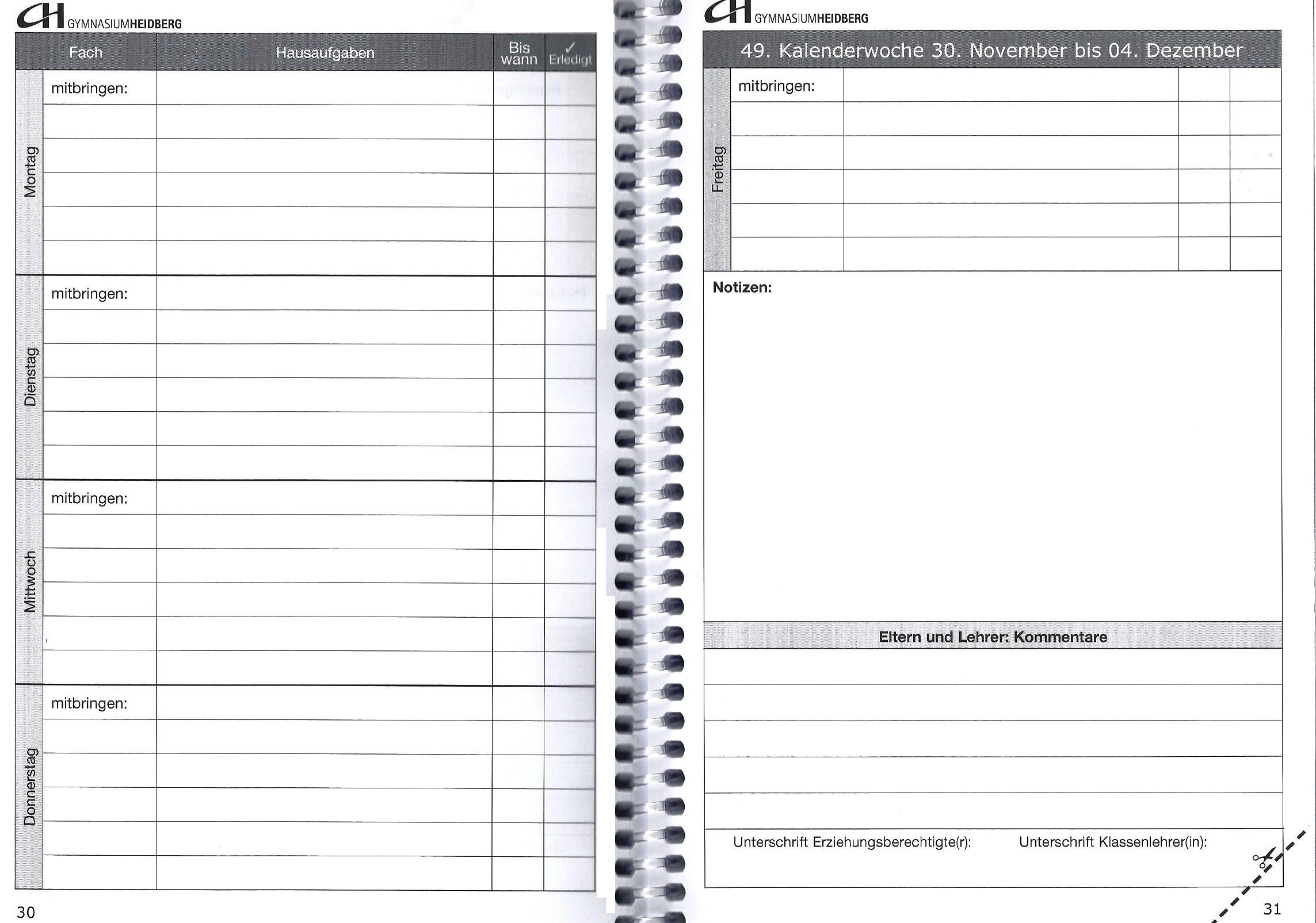 Tolle Hausaufgaben Agenda Vorlage Zeitgenössisch - Beispiel ...