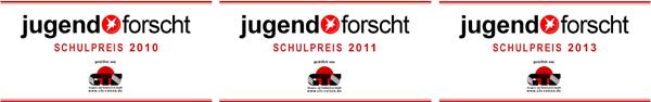 Schulpreis_2010, 2011, 2013